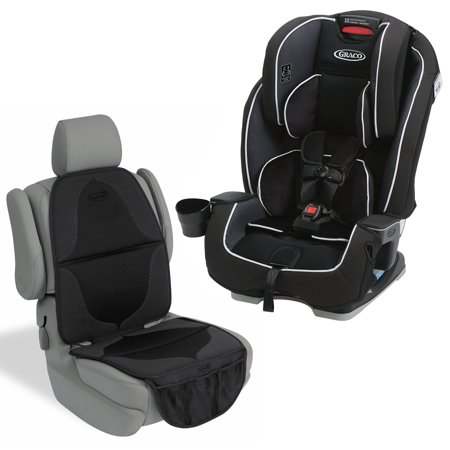 Graco Milestone All-In-One Convertible Car Seat with Elite Car Seat Mat