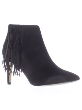 324292da51 Product Image Womens M.F Tune Side Fringe Dress Ankle Boots - Black