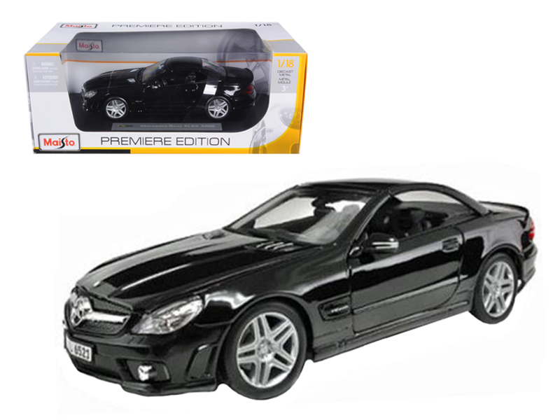 2010 2011 Mercedes SL65 SL 65 Coupe AMG Black 1 18 Diecast Model Car by Maisto by Diecast Dropshipper