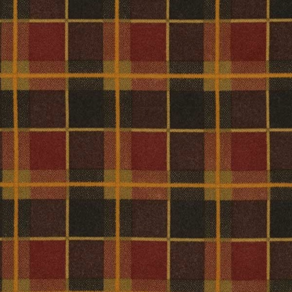 Timeless Treasures Fabrics Tailor Made Cotton Flannel Plaids Multi Windowpane Plaid