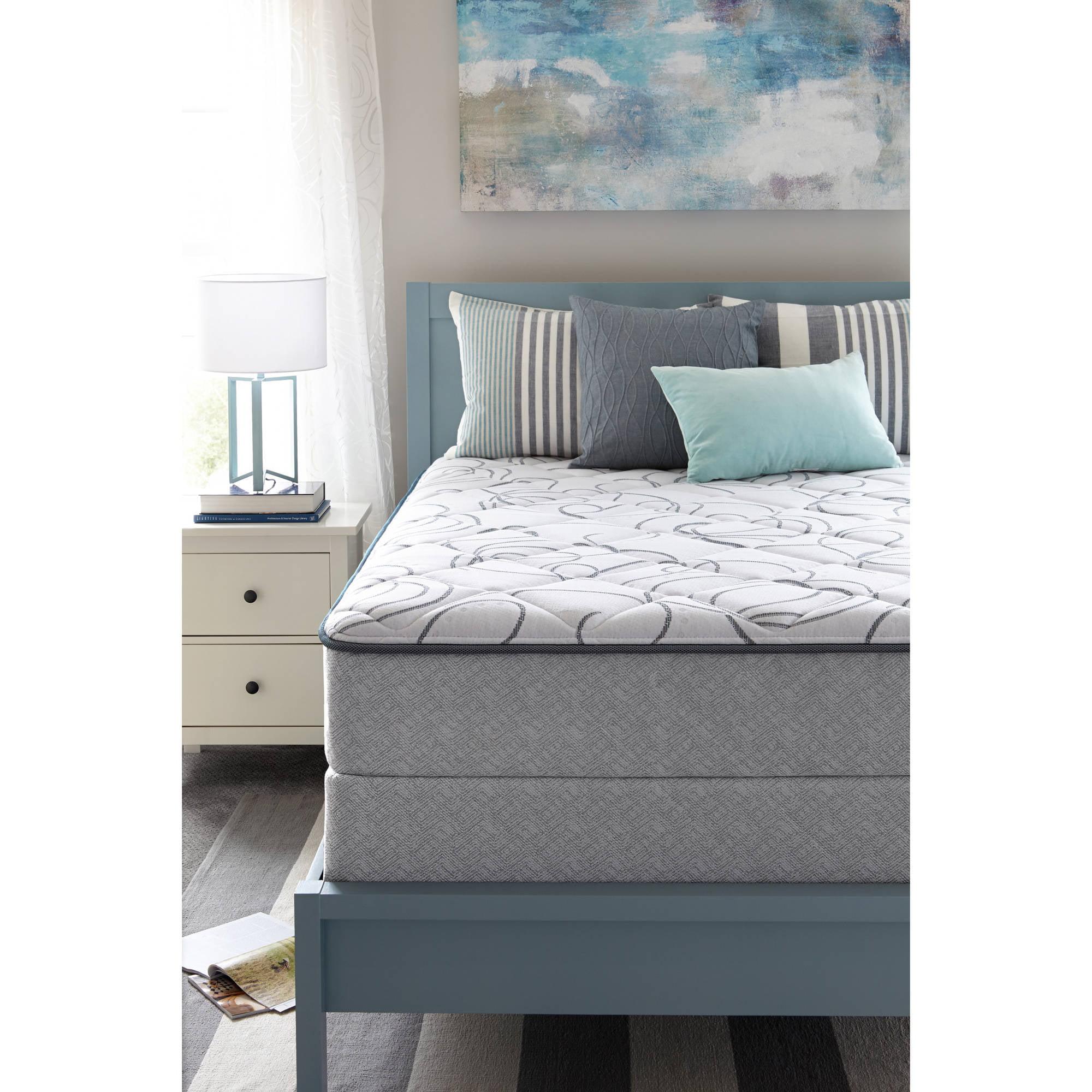 Sealy Bourdon Mattress, Plush, Multiple Sizes - Walmart.com