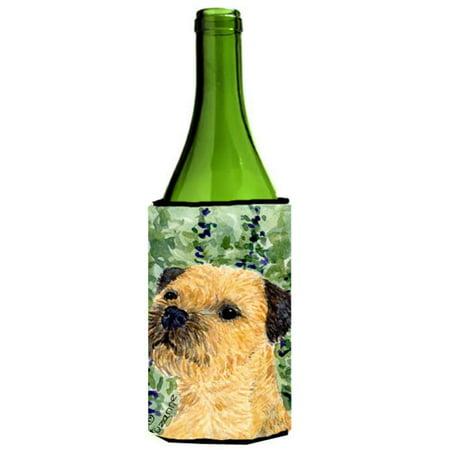 Border Terrier Wine bottle sleeve Hugger - 24 Oz. - image 1 de 1