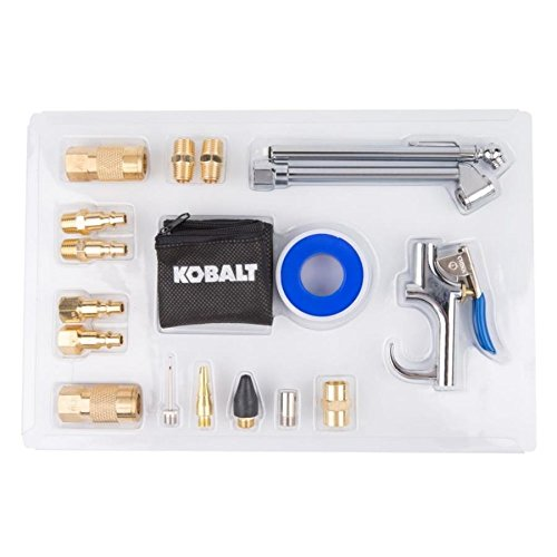 Kobalt - SGY-AIR200 - 18-piece Air Compressor Accessory Kit Ensemble