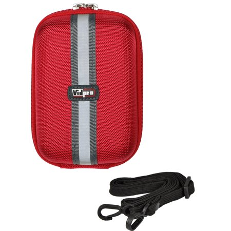 Vidpro ACT-15 Accent Hard Shell Digital Camera Case (Red) ()