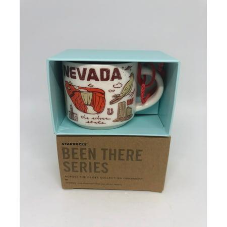 Starbucks Coffee Been There Nevada Ceramic Ornament Espresso Mug New Box ()