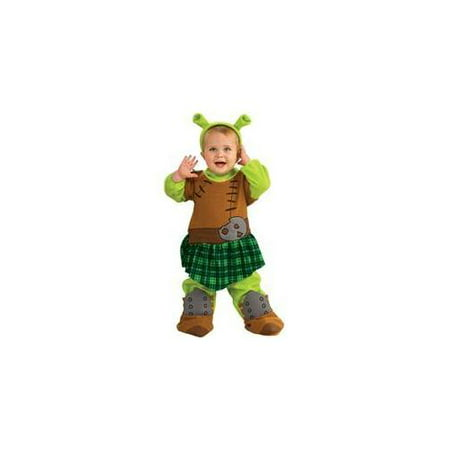 Fiona Warrior Newborn Halloween Costume -