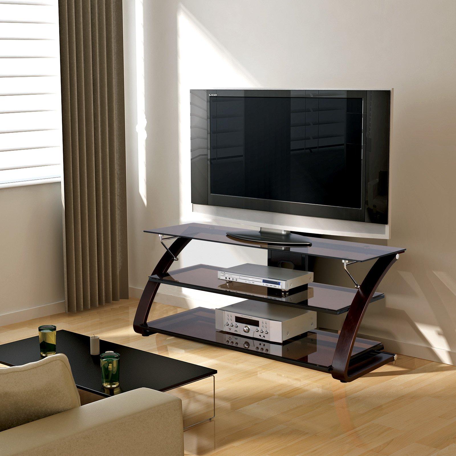 """Spar TV Stand for TVs up to 65"""", Mocha"""