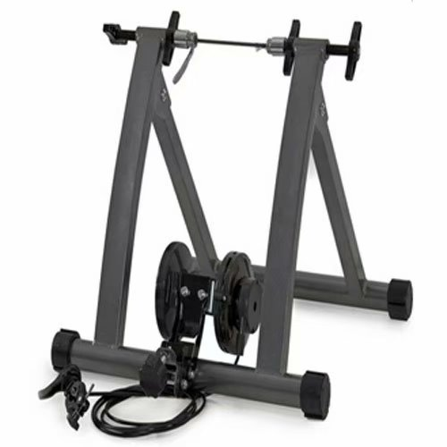 Noroomaknet Stationery Bike Trainer Stand Rack Indoor Wired Bicycle Exercise Stand Black