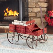 Indoor Outdoor Gardener Amish wagon decorative indoor outdoor garden backyard planter red amish wagon decorative indoor outdoor garden backyard planter red image 4 of 4 workwithnaturefo