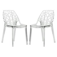 Dining Chair in Clear - Set of 2