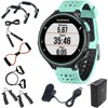 Garmin Forerunner 235 GPS Sport Watch with Wrist-Based Heart Rate Monitor - Frost Blue (010-03717-48) with 7-in-1 Total Resistance Fitness Kit