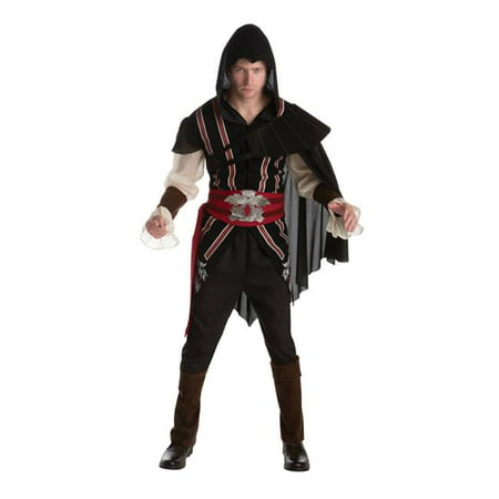 Morris Costume LF6476LG Assassins Creed Ezio Adult Costume, Large](Assassins Creed Halloween Costume)