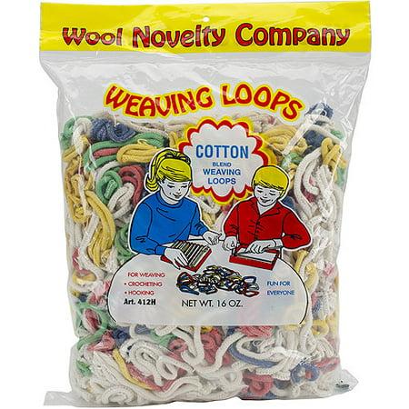 Weaving Loops - Cotton Weaving Loops, 16 oz, Assorted