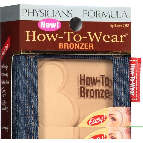 Physicians Formula How-to-Wear Bronzer, 7865 Light Bronzer, 0.26 oz