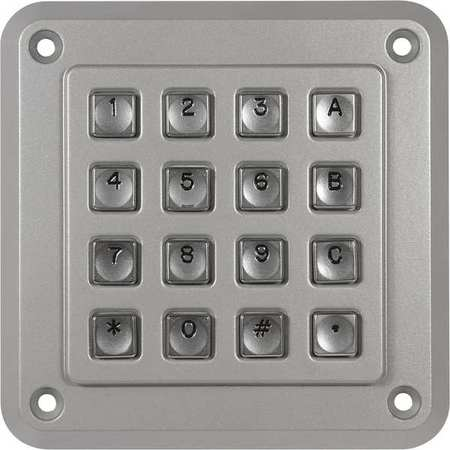 STORM INTERFACE 1000 SERIES 16 KEY Vandal Resistant Keypad,16 Key,IP65