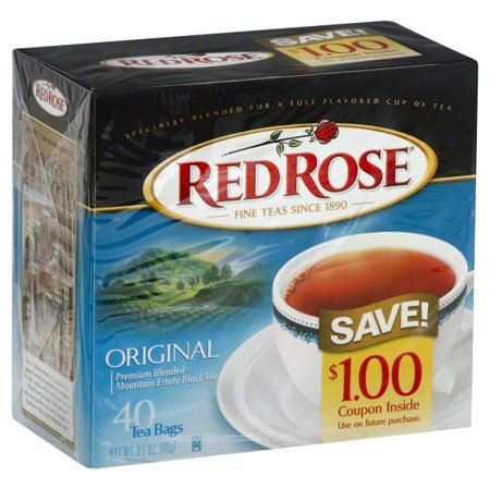 Red Rose® Original Full Flavored Black Tea Bags 40 ct. Box