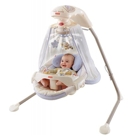 Fisher Price Starlight Papasan Cradle Swing