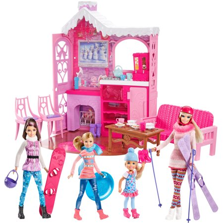 Barbie Winter Family Build Up Walmart Com