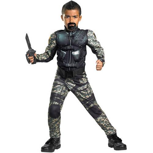 G.I. Joe Roadblock Classic Muscle Child Halloween Costume
