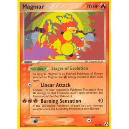 Pokemon Legend Maker Magmar #21