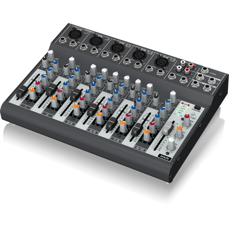 Behringer 1002B Premium 10-Input 2-Bus Mixer w/ Xenyx Preamps, British EQs & Optional Battery Operation Behringer Xenyx 502 Mixer
