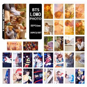Yourself Card - Fancyleo Graven BTS Bulletproof Youth League Collective 09 LOMO Boxes, Small Card Sets Love Yourself Same Paragraph 30 pcs/Box