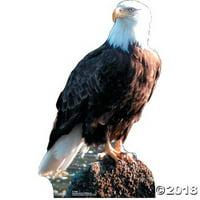 Bald Eagle Life Size Cardboard Standup