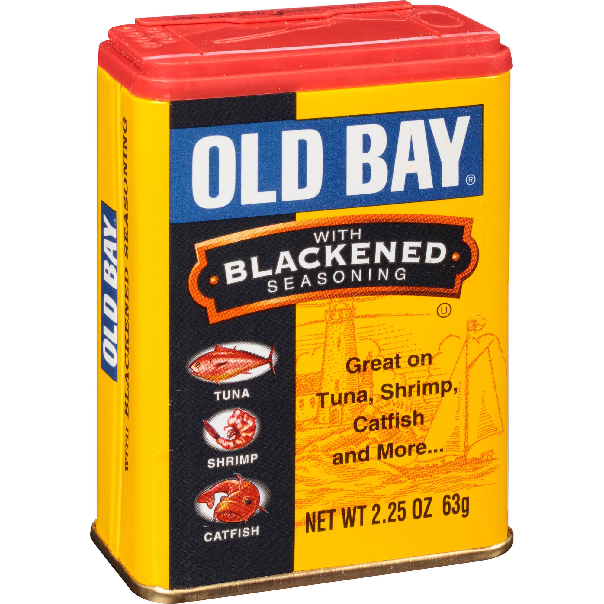 Old Bay with Blackened Seasoning, 2.25 oz