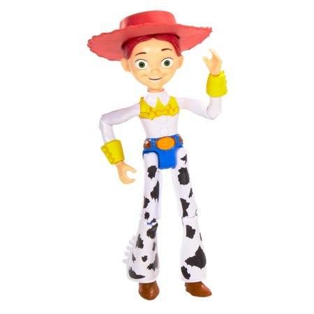 Disney Pixar Toy Story Jessie Figure with Movie-Inspired Details - Woody Toy Story Jessie