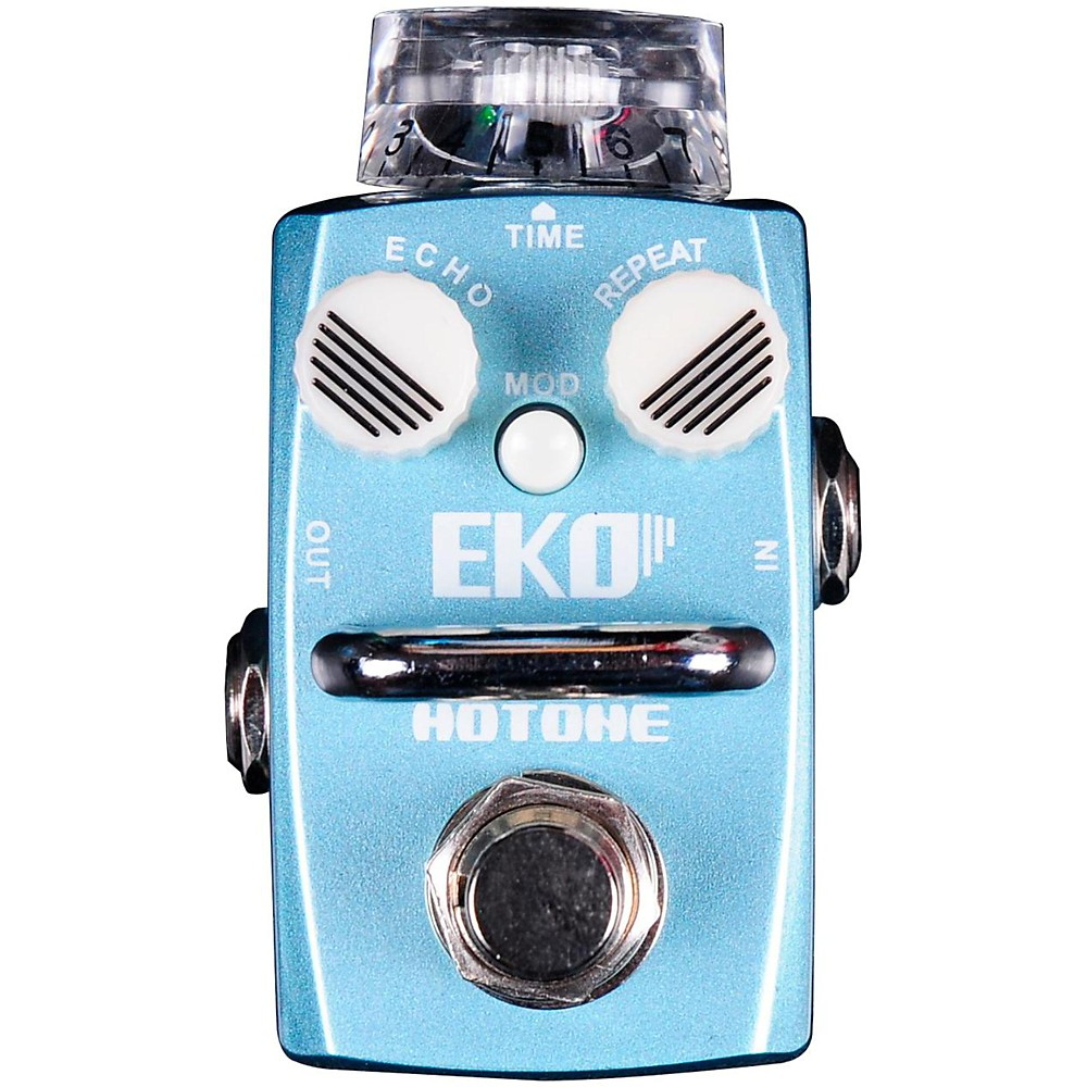 Hotone Effects Eko Delay Skyline Series Guitar Effects Pedal