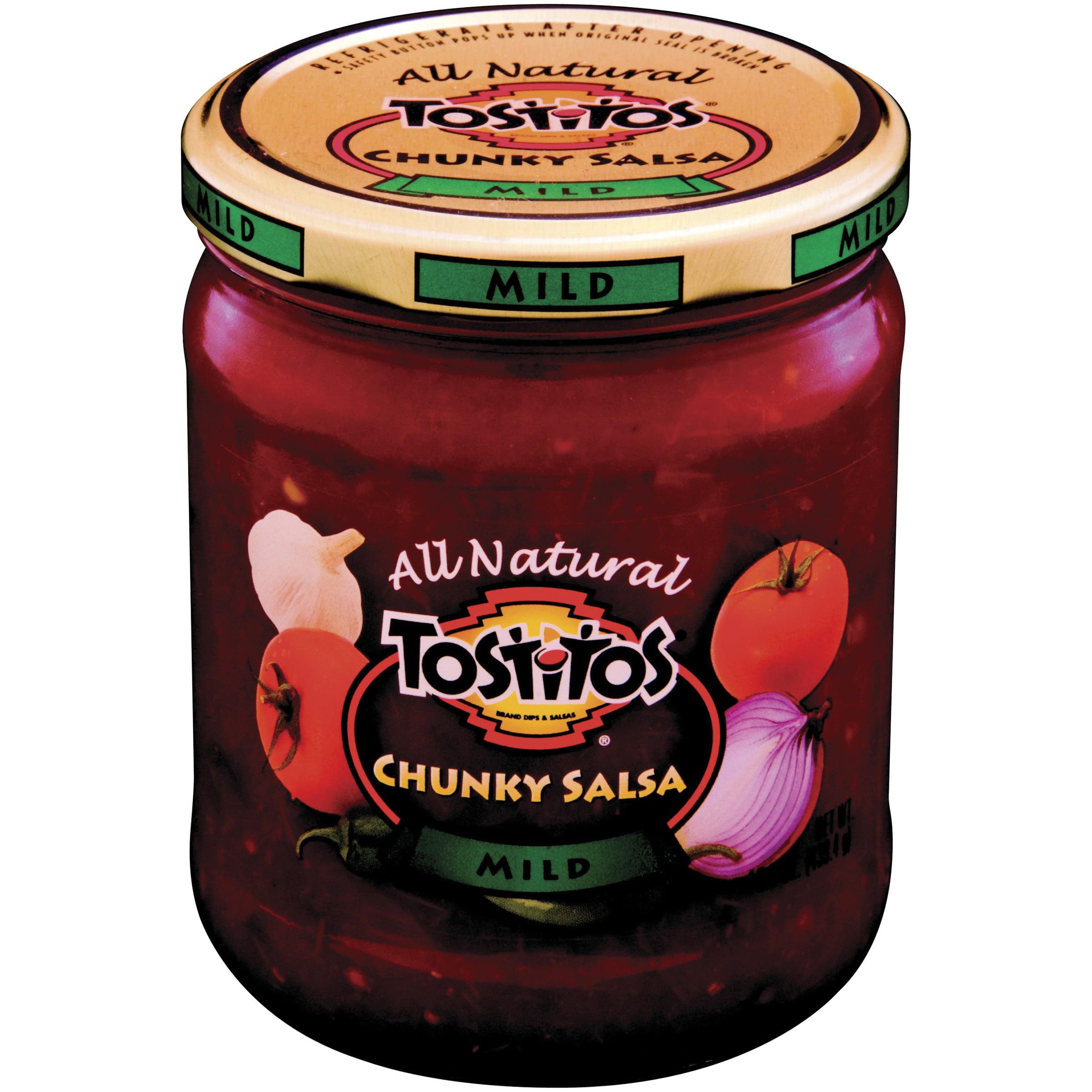 Tostitos® Chunky Salsa, Mild, 15.5 oz. Jar