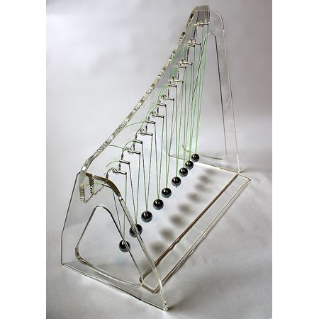 Deluxe Acrylic Pendulum Wave Demonstration Kit with Teacher's Guide ()