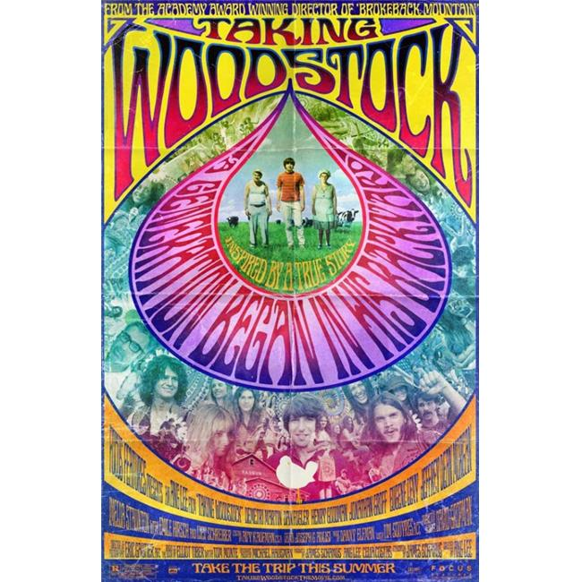 Pop Culture Graphics MOVGJ9693 Taking Woodstock Movie Poster, 11 x 17 - image 1 de 1