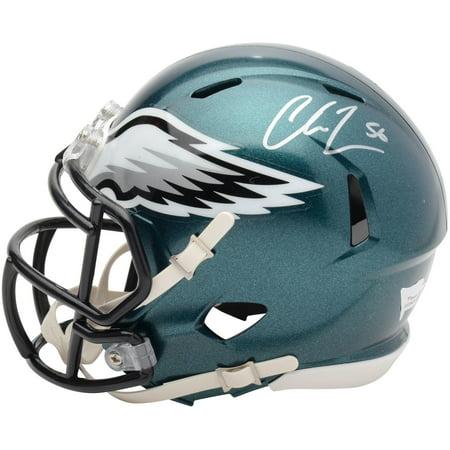 finest selection bda9a f04bb Chris Long Philadelphia Eagles Autographed Super Bowl LII Mini Helmet -  Signed on Left Side - Fanatics Authentic Certified