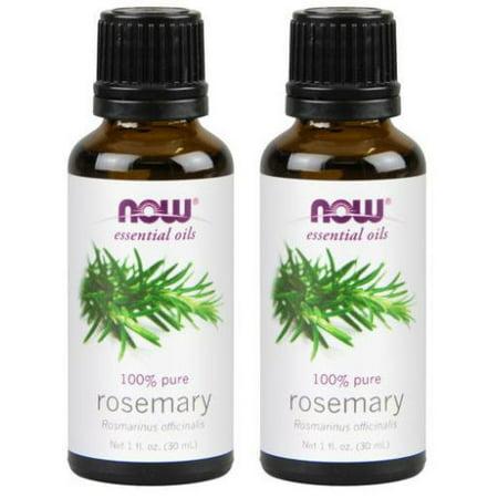 Now Foods - 1 fl oz Rosemary Oil (Pack of 2) Foods Rosemary Oil