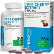 Bronson Tart Cherry Extract 2500 mg Non-GMO Gluten & Soy Free  with Antioxidants