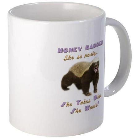 CafePress - Honey Badger Takes What She Wants Mug - Unique Coffee Mug, Coffee Cup CafePress