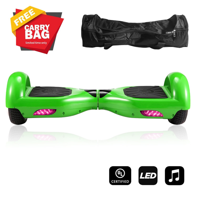 "6.5"" Scooter Skateboard Hoverboard Hoover Board Self-Balancing Two-Wheel Scooter Hoverboard Self... by Betruststores"