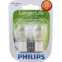 Philips Longerlife Miniature 2357Ll, Clear, Twist Type, Always Change In Pairs!