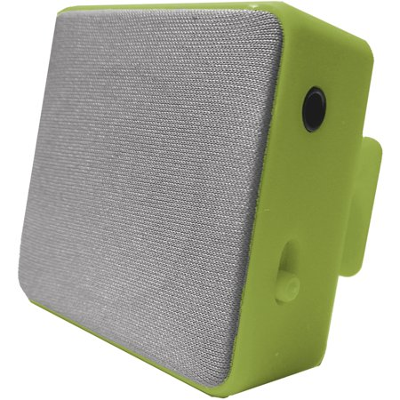 Image of Hype Bluetooth Cube Clip Stereo Speaker, Green