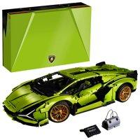 LEGO Technic Lamborghini Sian FKP 37 Car Model Building Kit (3,696 Pieces)