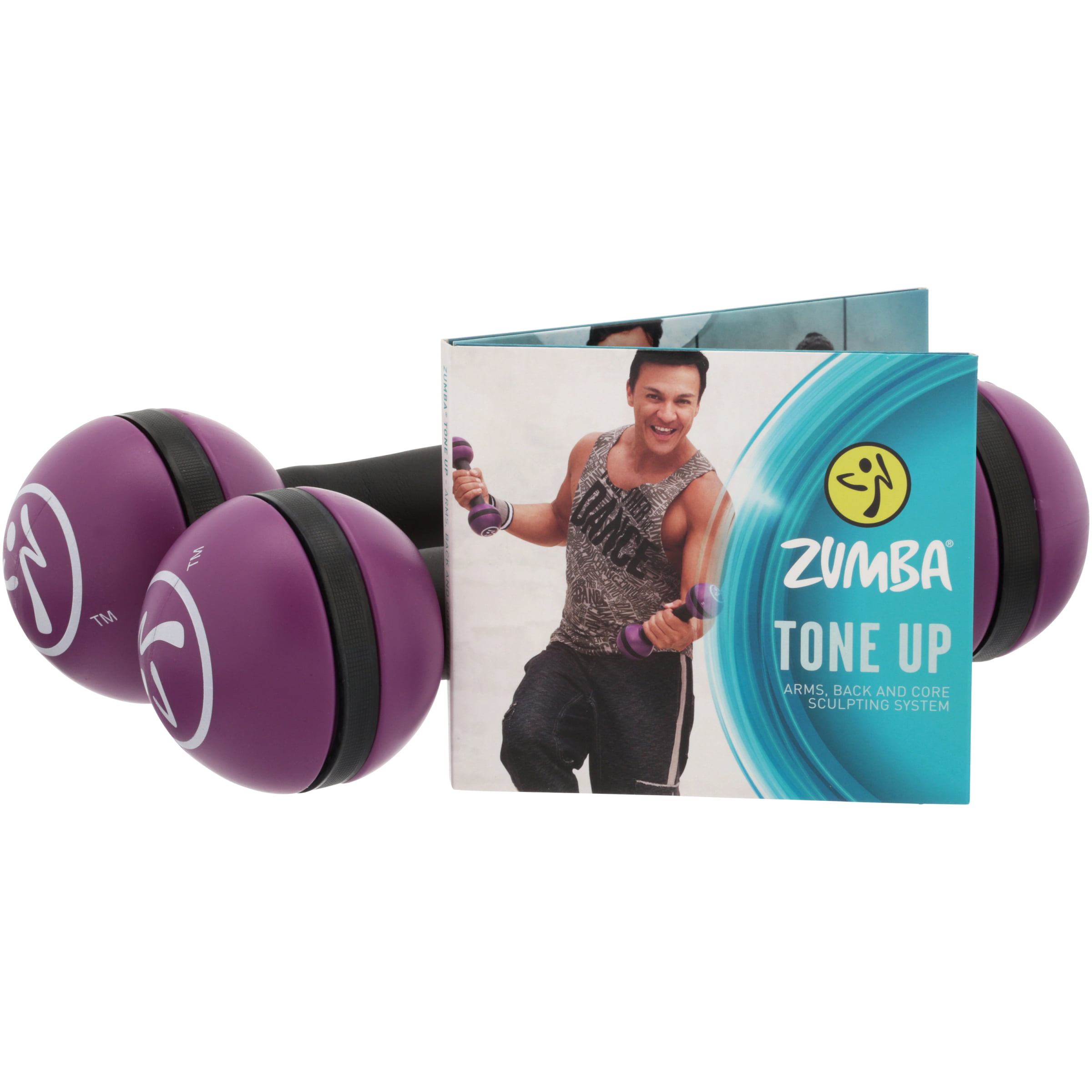 Zumba Tone Up Plus Arms, Back and Core Sculpting System Variety Pack 9 pc Box by Zumba Fitness, LLC