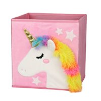 Your Zone Collapsible Storage Bin - Unicorn