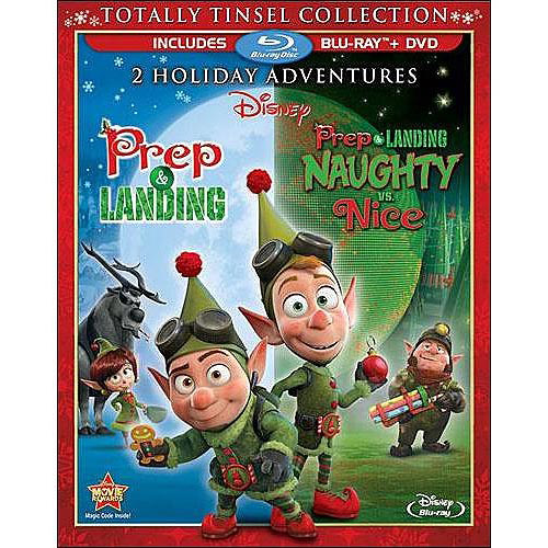 Prep And Landing: Totally Tinsel Collection (Blu-ray   DVD) (Widescreen)
