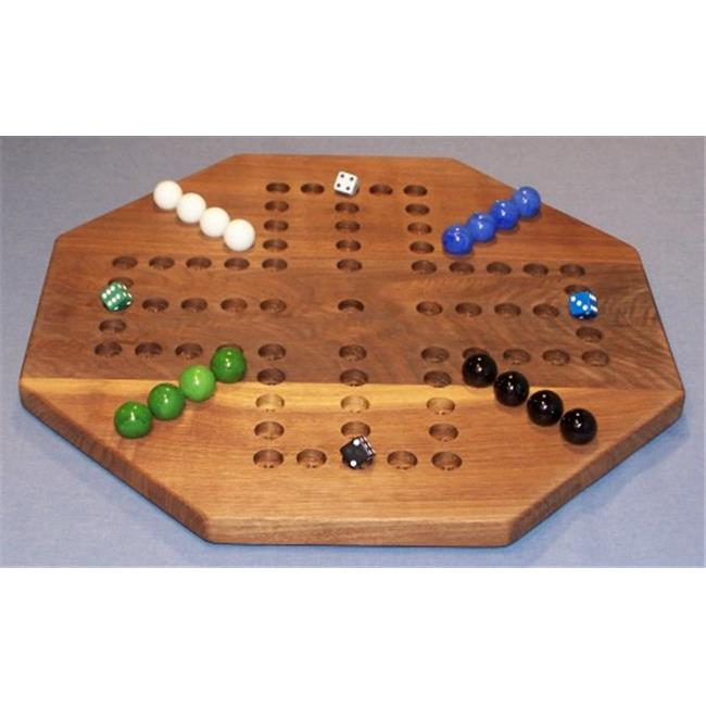 THE PUZZLE-MAN TOYS W-1933 Wooden Marble Game Board - Agg...