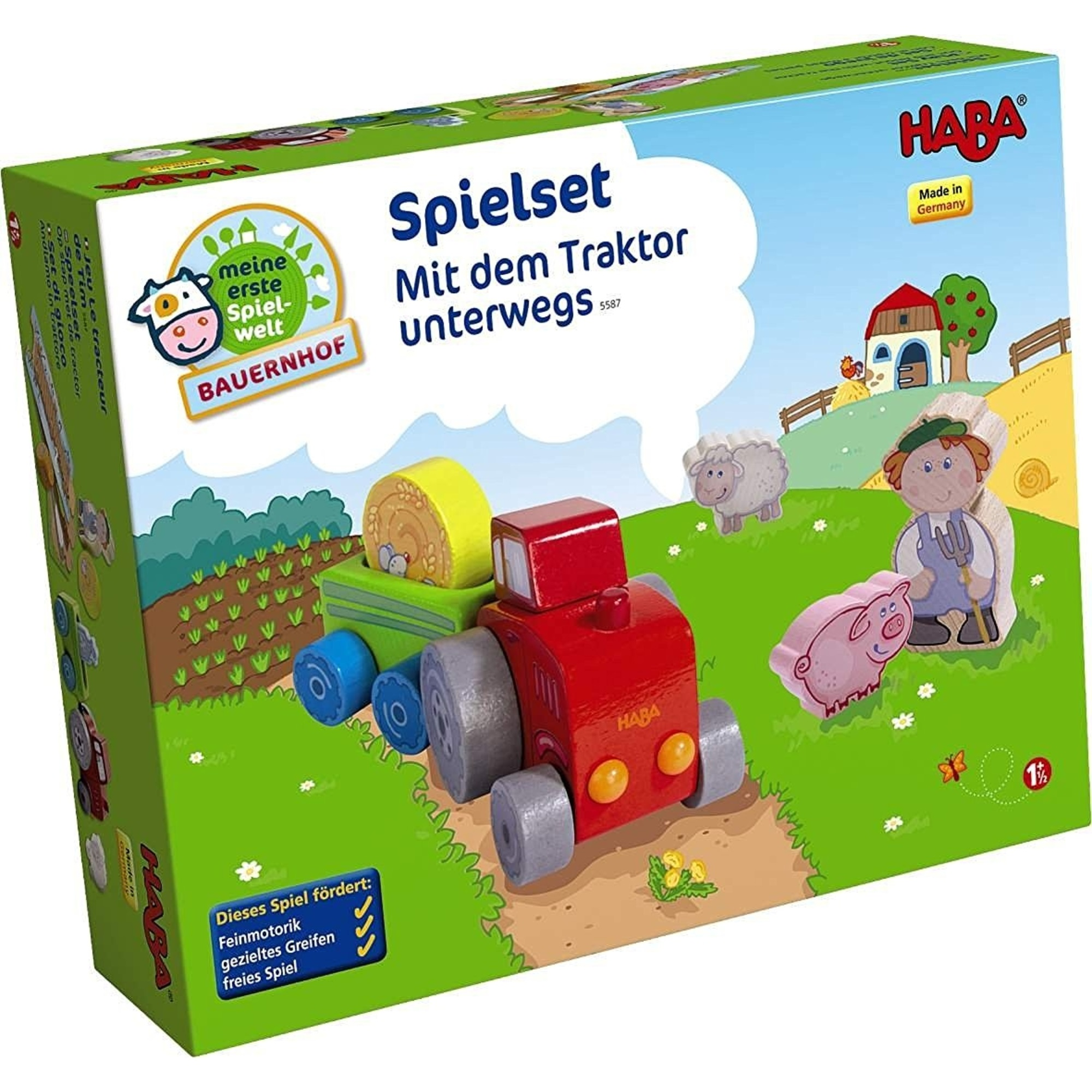 HABA Play Set Out and About with the Tractor