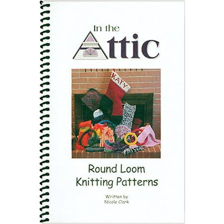 In The Attic Books Round Loom Knitting Patterns Walmart