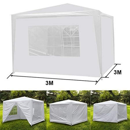 New MTN-G 10 x 10 Ft White Canopy Party Tent Weddin Tent Pavilion Cater