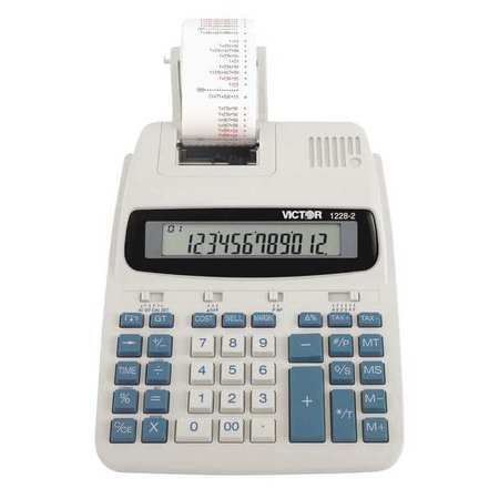 Victor 12282 Two Color Roller Printing Calculator G4256421