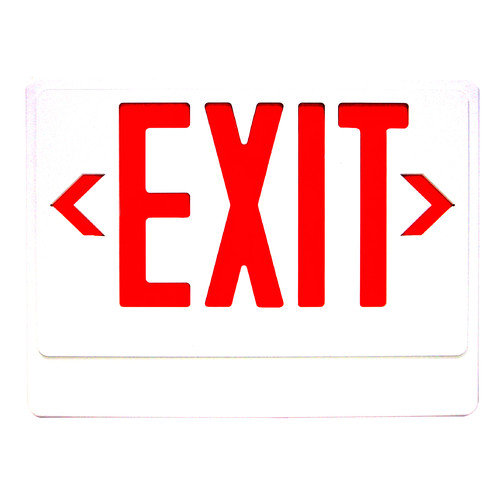 Royal Pacific LED Exit Sign with Remote Capability in Green